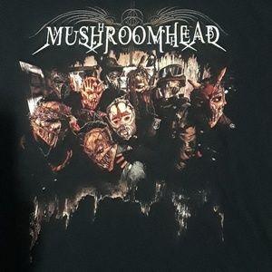 99010a1e157713 xcontrol Shirts - Mushroomhead band tee size 2xl